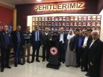 MEHMET YAVUZ - Mehmet Yavuz Yeniden Şehit Aileleri Derneği Başkanı Seçildi