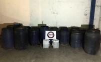 SAHTE İÇKİ - Mersin'de Bin 720 Litre Sahte İçki Ele Geçirildi
