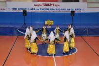 NEVŞEHİR BELEDİYESİ - Nevşehir'de Halk Oyunları Yarışması Yapıldı