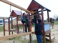 TAHTEREVALLI - Sekapark'taki Oyun Gruplarının Tadilatı Yapılıyor