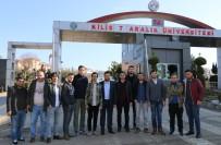 SALIM DEMIR - Uşak Üniversitesi Öğrencileri, Mehmetçiği Cephe Arkasında Ziyaret Etti