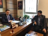 İBRAHİM ASLAN - AGAD Başkanı Aslan İle Milletvekili Fırat Bir Araya Geldi