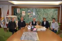 İSMAIL ÇETIN - Atlı Cirit Spor Kulübü, Belediye Başkanı Saraoğlu'ndan Destek İstedi