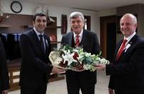 KAYIT DIŞI EKONOMİ - Başkan Karaosmanoğlu, Vergi Haftası Sebebiyle Gelen Ziyaretçileri Makamında Ağırladı