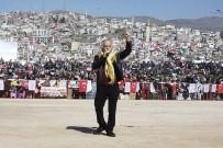 DEVE GÜREŞİ - Bayraklı'da Gelenek 8. Yılında