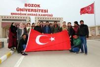 TÜRKMENISTAN - Bozok Üniversitesi'ndeki Yabancı Uyruklu Öğrencilerden Zeytin Dalı Harekatı'na Destek