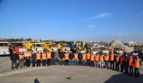 SOĞUK HAVA DALGASI - Büyükçekmece Belediyesi'nde Kar Alarmı