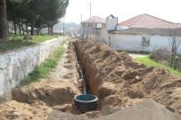 CENGIZ ERGÜN - Çimentepe Mahallesi'ne Yeni Kanalizasyon Hattı