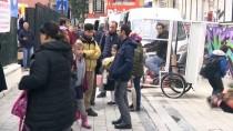 OKUL SERVİSİ - Çocukları Üşümesin Diye Bisikleti 'Okul Taşıtına' Dönüştürdü