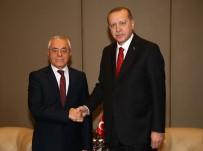 HALK MECLİSİ - Cumhurbaşkanı Erdoğan, Cezayir Ulusal Meclis Başkanı Bouhadja'yı Kabul Etti