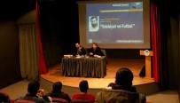 DÜŞÜNÜR - 'Edebiyat Ve Futbol' İlişkisi Seminerde Konuşuldu