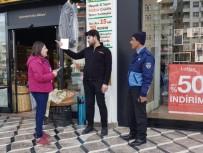 GÜLISTAN CADDESI - Esnafa 'Çöp Saati Ve Kuralları' Hatırlatıldı
