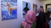 REFAH SINIR KAPISI - Gazze'de Göç Konulu Sergi