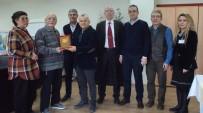 EMEKLİ HAKİM - Hayırsever Emekli Hakime Bağış Plaketi
