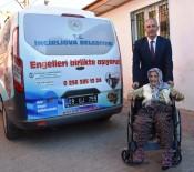 AKÜLÜ SANDALYE - İncirliova'da Engelsiz Yaşam Çalışmaları Sürüyor