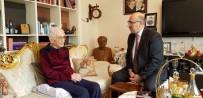 2008 YıLı - İÜ Rektörü Mahmut Ak'tan Ünlü Bestekâr Yavaşça'ya Ziyaret