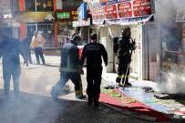 KıŞLA - Mangal Evinde Çıkan Baca Yangını Korkuttu