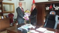 MEHMET DOĞAN - Müdür Doğan'dan Başkan Özkan'a Ziyaret