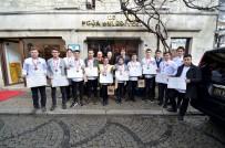 MUTFAK GÜNLERİ - Ödüllü Aşçılar Başkan Demirağ'ı Ziyaret Etti