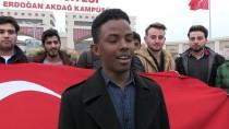 TÜRKMENISTAN - Yabancı Uyruklu Öğrencilerden Zeytin Dalı Harekatı'na Destek