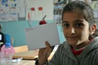 Afrin'deki Mehmetçiğe Öğrencilerden Moral Mektubu