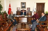 NACI KALKANCı - Afrin Gazisi Vali Kalkancı'yla Bir Araya Geldi