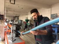 ELEKTRİK TASARRUFU - Alacağı Makinenin Fiyatını Yüksek Buldu, Kendi Makinesini Yaptı