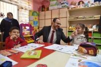 MUSTAFA ÖZSOY - Başkan Ayaz, Üç Okulu Ziyaret Etti