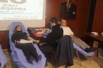 CELALETTIN YÜKSEL - Eğitimciler Ve Velilerden Kızılay'a Kan Bağışı