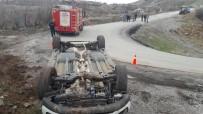 Elazığ'da Otomobil Takla Attı Açıklaması 3 Yaralı