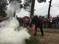 SÖNDÜRME TÜPÜ - Kalkım İlk Ve Ortaokulu'nda Yangın Tatbikatı