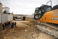 Karaman'da Yapımı Devam Eden Larende Alt Geçidinde Sona Yaklaşıldı