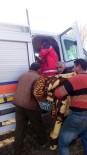 DARBOĞAZ - Kars'ta Tipiye Yakalanan 8 Kişi Kurtarıldı