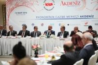 SERBEST BÖLGE - Kocamaz, 'Akdeniz Ekonomi Forumu' Tanıtım Toplantısına Katıldı