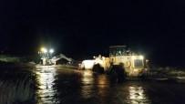 Muğla'da Araç Denize Sürüklendi Açıklaması 1 Ölü, 1 Kayıp