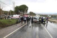 SITKI KOÇMAN ÜNİVERSİTESİ - Muğla'da Üç Araç Birbirine Girdi Açıklaması 6 Yaralı
