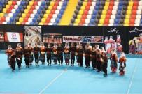 EĞİTİM ÖĞRETİM YILI - Okullar Arası Halk Oyunları Yarışmaları Başladı
