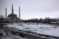 KAR LASTİĞİ - Edirne'de İki Günlük Kar Bilançosu Açıklandı