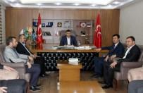 ALPARSLAN TÜRKEŞ - Saadet Partisi'nden MHP'ye Ziyaret