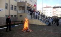 SAĞLIK MESLEK LİSESİ - Sağlık Meslek Lisesinde Yangın Tatbikatı Düzenlendi