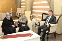 ERSIN YAZıCı - Şehit Kaymakam Safitürk'ün Ablaları Vali Yazıcı'yı Ziyaret Etti
