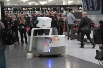 ROBOT - THY Yolcularının Bagajlarını Robot 'Leo' Taşıyacak