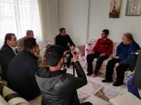 AHMET GENCER - Afrin'de Yaralanan Asker Baba Evine Getirildi