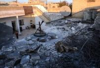 AZEZ - Azez'de Kapalı Pazar Yerine Roket Düştü Açıklaması 8 Yaralı