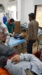 POLİS TEŞKİLATI - Azez'de Kapalı Pazar Yerine Roket Düştü Açıklaması 9 Yaralı
