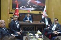 İBRAHIM AYDEMIR - Bakan Yardımcısı Yayman'dan EGC'ye Ziyaret