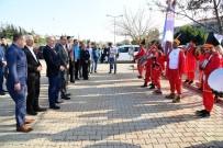 MEVLÜT KARAKAYA - Başkan Sözlü'yü 'Engelsiz Mehter Takımı' Karşıladı
