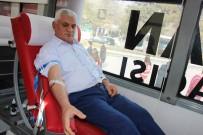 ELAZıĞ ÖĞRETMENEVI - Elazığlı Vatandaşlardan Afrin'deki Askerler İçin Kan Bağışı