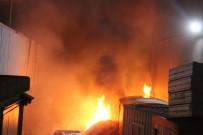 BAĞDAT CADDESI - Geri Dönüşüm Fabrikası Alev Alev Yandı