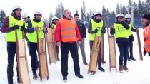 Kastamonu'da 'Kızak Yarışları Ve Kar Festivali'